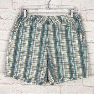 Oakley Back Nine Plaid Stretch Women's Golf Shorts
